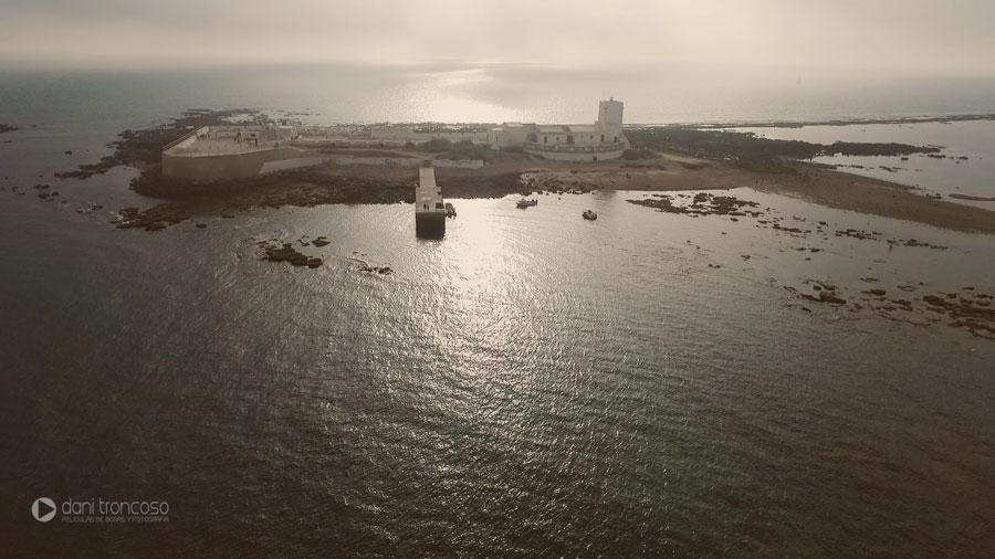 video-drone-castillo-sancti-petri